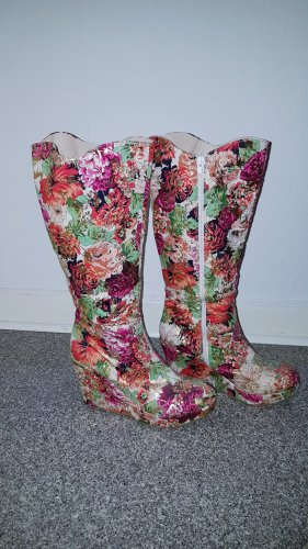 Platform Boots multicolored