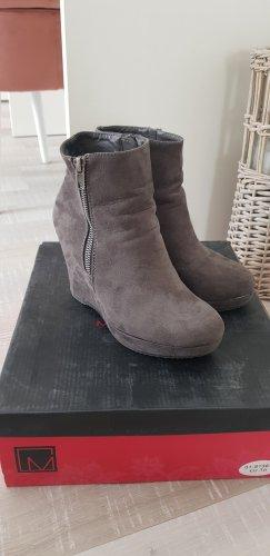 Graceland Botas de cuña gris-gris oscuro