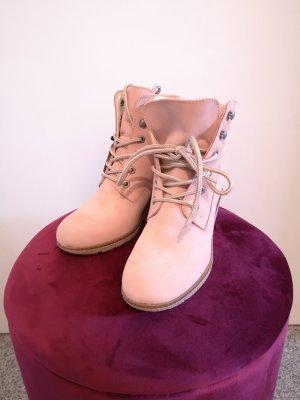 Tamaris Botines de invierno rosa