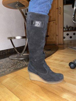 Ovyé Laarzen met hoge hakken zwart-room
