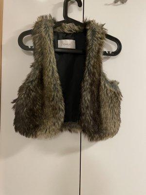 Only Fur vest multicolored