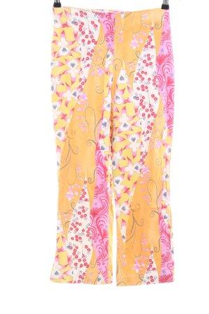 Kejzar's Cotton Line 3/4-Hose abstraktes Muster extravaganter Stil