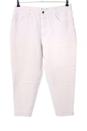 Kejzar's Cotton Line Jeans 7/8 blanc cassé style décontracté