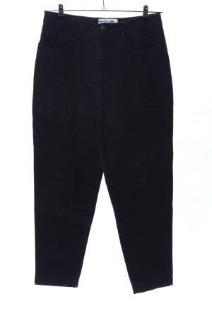 Kejzar's Cotton Line Jeans carotte noir style décontracté