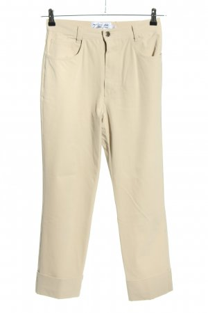 Kejzar's Cotton Line Stoffhose wollweiß Casual-Look