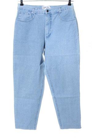 Kejzar's Cotton Line Jeans coupe-droite bleu style décontracté