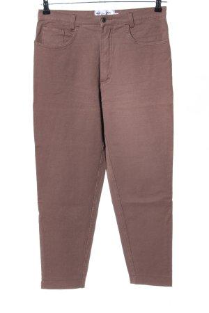 Kejzar's Cotton Line Straight-Leg Jeans braun Casual-Look