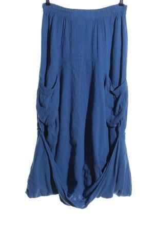 Kekoo Maxi gonna blu stile casual