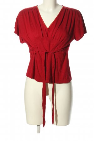 kello V-Neck Shirt red casual look