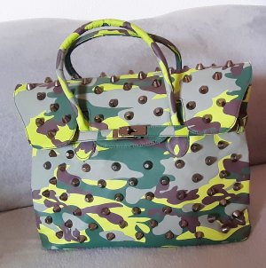 Kellybag Shopper Camouflage mit Nieten
