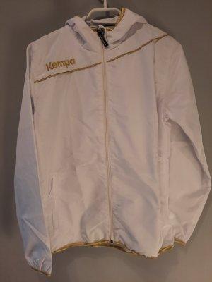 Kempa Giacca sport bianco-oro