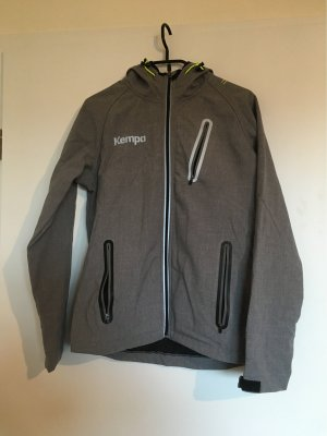 Kempa Softshell Jacket light grey polyester