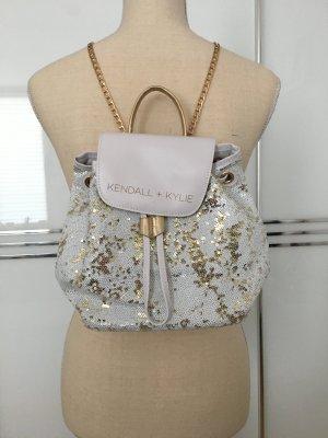 Kendall + Kylie Deichmann Pailletten-Rucksack weiß/gold