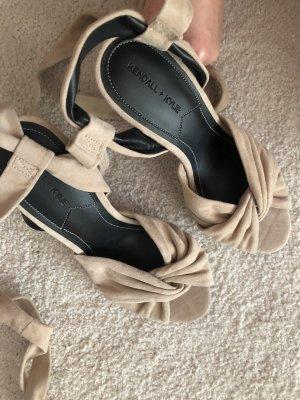 Kendall & Kylie High Heels beige 40 neu