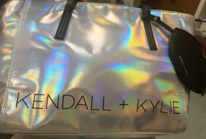 Kendall + Kylie Mobile Phone Case silver-colored-black