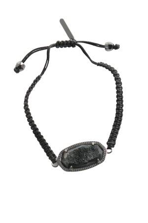 Kendra Scott Armband schwarz-silberfarben Casual-Look