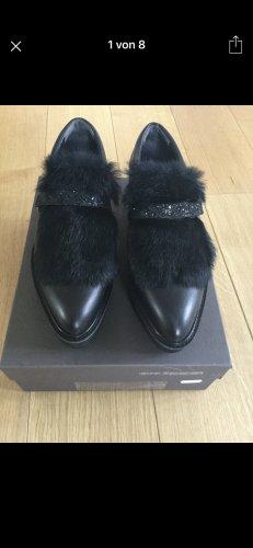 Kennel und Schmenger Zapatos sin cordones negro Cuero