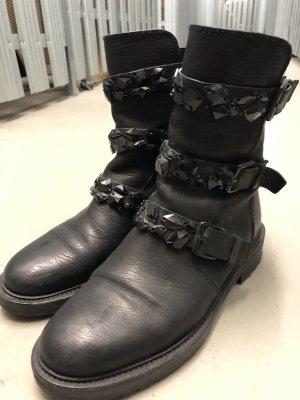 Kennel und Schmenger Buskins black-taupe leather