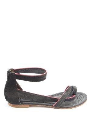 Kennel & Schmenger Sandalias Dianette negro-rosa look casual