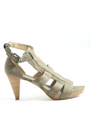 Kennel & Schmenger High Heel Sandaletten khaki Casual-Look