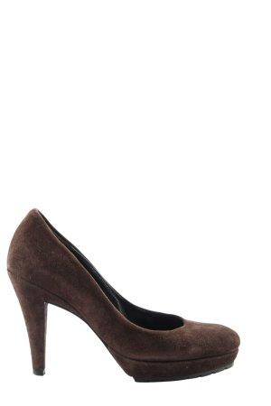 Kennel + schmenger High Heels braun Business-Look