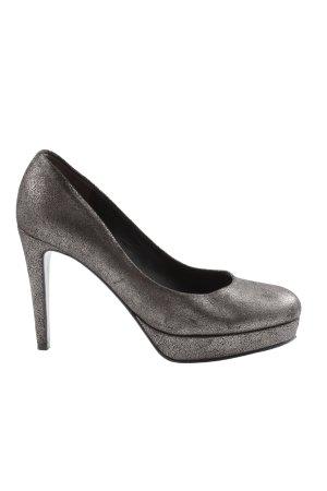 Kennel & Schmenger High Heels silberfarben Elegant
