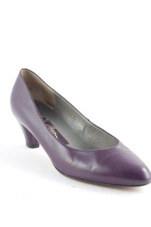 Kennel + schmenger High Heels purpur Casual-Look
