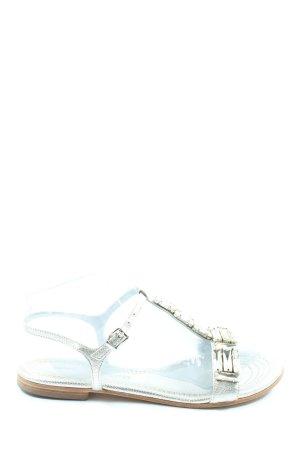 Kennel & Schmenger Sandalo comodo argento stile casual