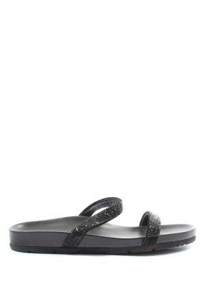 Kennel & Schmenger Sandalias cómodas negro look casual