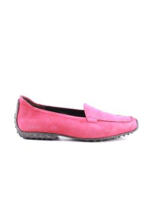 Kennel + schmenger Mocassino rosa-nero stile casual