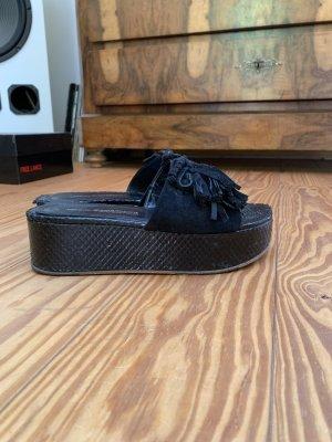 Kennel & Schmenger Plateau Pantolette Sandale