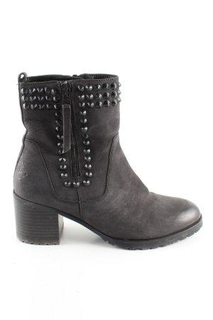 Kennel + schmenger Reißverschluss-Stiefeletten schwarz Casual-Look