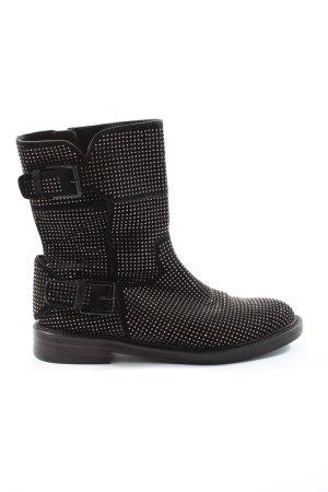 Kennel & Schmenger Reißverschluss-Stiefeletten schwarz Casual-Look