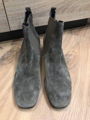 Kennel + schmenger Bottines plissées gris brun-taupe
