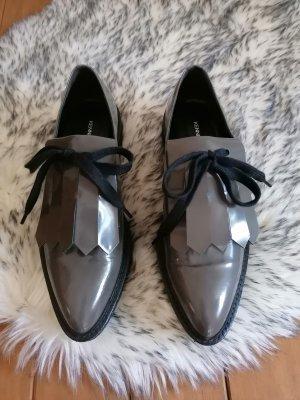 Kennel und Schmenger Zapatos formales sin cordones gris-gris antracita