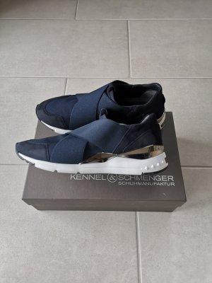 Kennel + schmenger Sneakersy wciągane Wielokolorowy Skóra