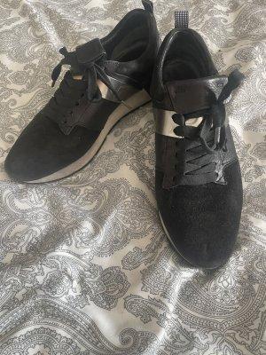 Kennel & Schmenger Sneaker Echt Leder schwarz Silber Gr 38