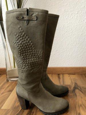 Kennel + schmenger Stivale militare talpa-marrone-grigio
