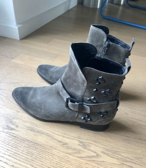 Kennel + schmenger Booties grey brown-taupe