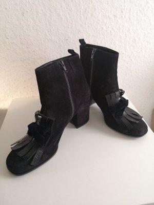 Kennel & Schmenger Stiefeletten Stiefel Velours Leder