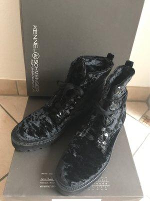Kennel & Schmenger Platform Booties black
