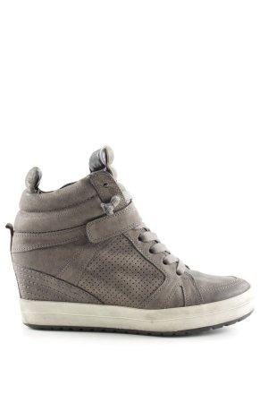 Kennel + schmenger Wedge Sneaker hellgrau Casual-Look