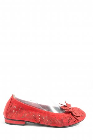Kennel und Schmenger Bailarinas plegables rojo look casual