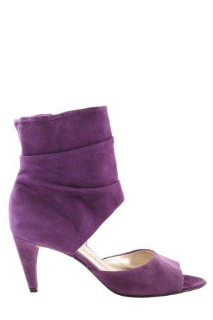 Kennel und Schmenger High Heel Sandaletten lila Casual-Look
