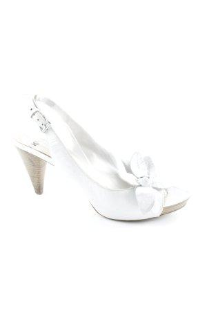 Kennel und Schmenger High Heel Sandaletten weiß Elegant