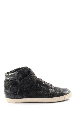 Kennel und Schmenger Sneaker alta nero stile casual