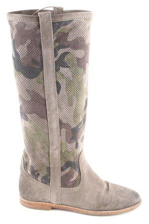 Kennel und Schmenger Schaftstiefel Camouflagemuster Casual-Look