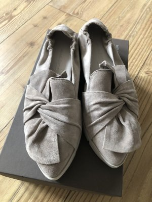Kennel & Schmenger Ballerinas with Toecap grey brown