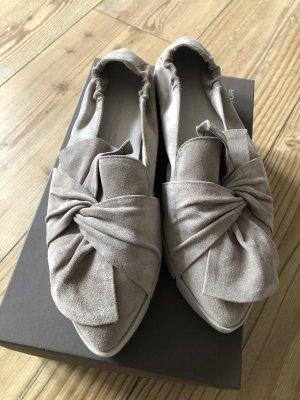 Kennel & Schmenger Ballerinas with Toecap grey brown