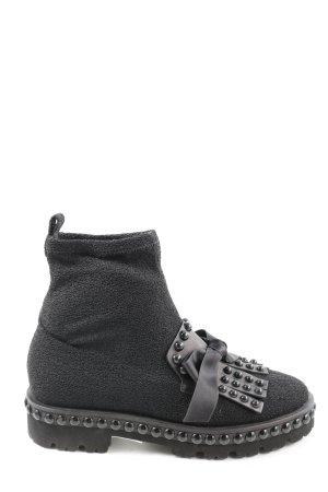 Kennel & Schmenger Korte laarzen zwart casual uitstraling
